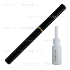E-Cigarette 510 + 10ml e-Liquid | Black