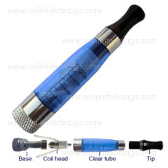 EGO-CE5 Cartomizer Set | Round-Tip | Blue