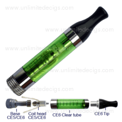 EGO-CE6 Cartomizer Set | Green