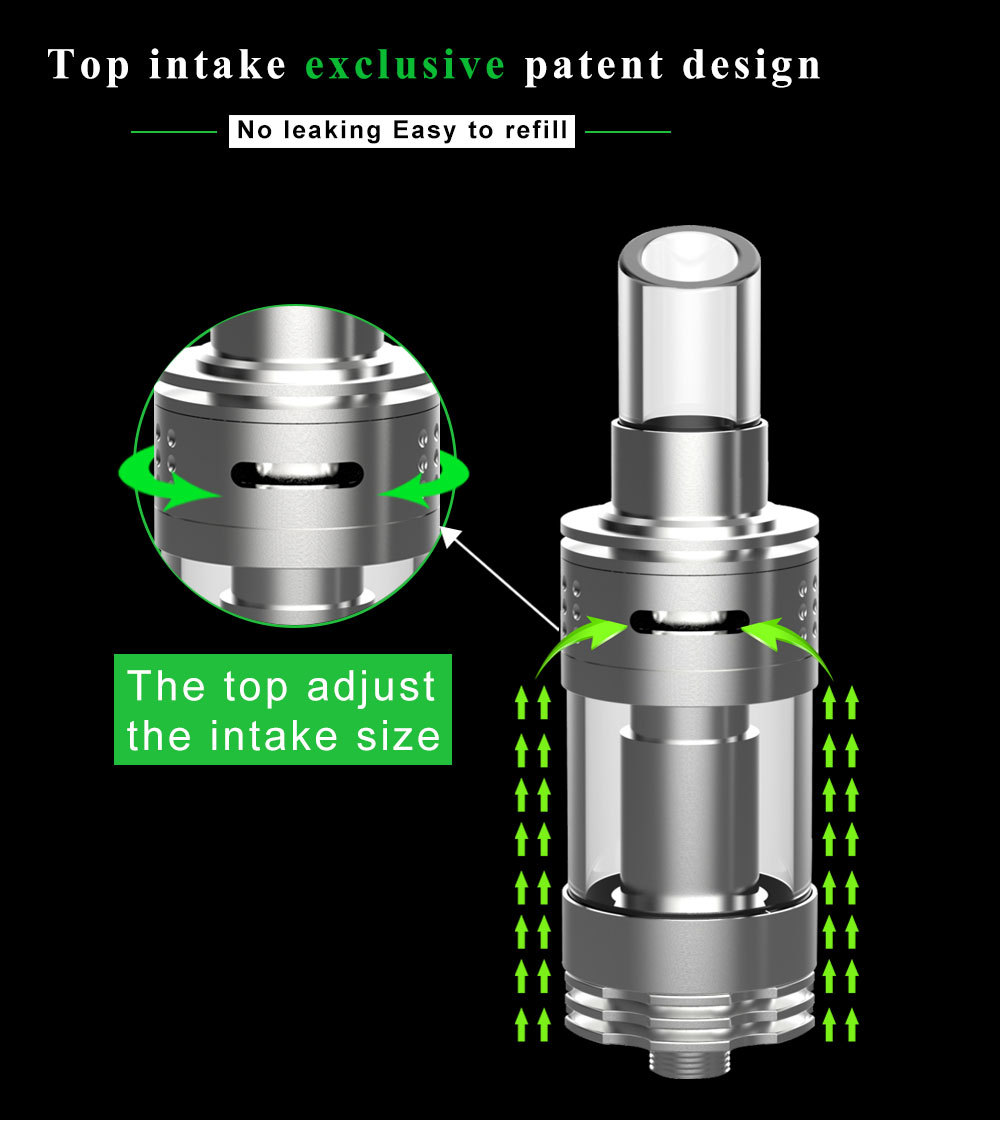 The KORE Sub-Ohm Top Airflow Clearomizer