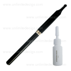 Pen Style e-Cigarette + 10ml e-Liquid | Black