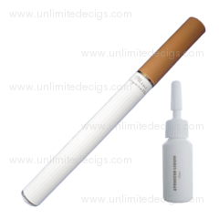 Mini e-Cigarette + 10ml e-Liquid | White