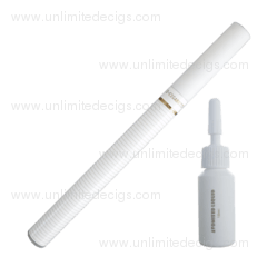 Super Mini e-Cigarette + 10ml e-Liquid | White